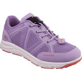 Viking Footwear Ullevaal Shoes Juniors Lavender/Coral
